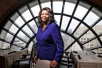 Dallas County District Attorney Faith Johnson(Nathan Hunsinger/Staff Photographer)