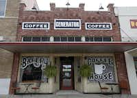The Generator coffee house in downtown Garland. (Jae S. Lee/The Dallas Morning News)(Staff Photographer)