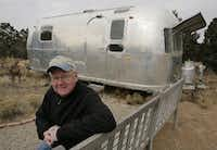 "<p><strong style=""font-size: 1em; background-color: transparent;"">Scott Burns paid $5,900</strong><span style=""font-size: 1em; background-color: transparent;""> for a 1971 Airstream travel trailer in 2005, and he and his wife set off for the ""Lifestyle of the Neither Rich nor Famous.""</span></p>(Jake Schoelkopf)"