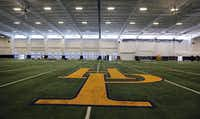 Indoor facility at Highland Park High School, photographed on Thursday, August 11, 2016. (Louis DeLuca/The Dallas Morning News) HSPracticeIndoorStaff Photographer