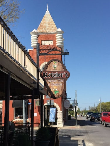 Ketzler S The German Restaurant On Granbury Square Serves An Authentic Lunch And Dinner Offers A Pretty Beer Garden For Relaxing After Day Of