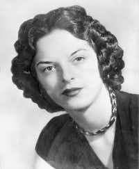 Carolyn Bryant Donham, in this 1955 photo, was at the center of the Emmett Till case. She has acknowledged that she falsely testified he made physical and verbal threats, according to a new book by Timothy B. Tyson.The Associated Press