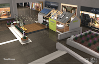 <p></p><p>TreeHouse plans to introduce itself to Dallas with this 1,000-square-foot house display featuring products it sells inside NorthPark Center for two months starting April 1, 2017.</p><p></p>