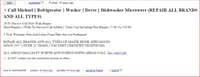 Woman Clicks On Google Appliance Repair Listing