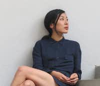 "Katie Kitamura, author of <i>A Separation.</i>(<p><span style=""font-size: 1em; background-color: transparent;"">Martha Reta</span></p>)"