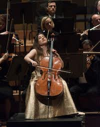 "<p>Cellist Alisa Weilerstein plays with the Dallas Symphony Orchestra in Tchaikovsky's <span style=""font-size: 1em; background-color: transparent;"">Rococo Variations</span><span style=""font-size: 1em; background-color: transparent;"">at the Morton H. Meyerson Symphony Center on Thursday, Feb. 2, 2017.</span></p>(<p><span style=""font-size: 1em; background-color: transparent;"">(Rex C. Curry/Special Contributor)</span><br></p><p></p>)"