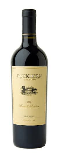 Duckhorn Vineyards, Napa Valley, Howell Mountain Red 2012 ($99-$104)(Duckhorn Wine Company)