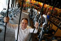 Tyler Duncan designed Larry North's new gym with millennials in mind.  (Nathan Hunsinger/The Dallas Morning News)