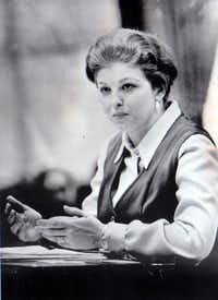 Attorney, legislator and political advisor Sarah Weddington is seen in this ca. 1973 file photo. Weddington successfully argued Roe vs. Wade before the Supreme Court. (Files/The Dallas Morning News)