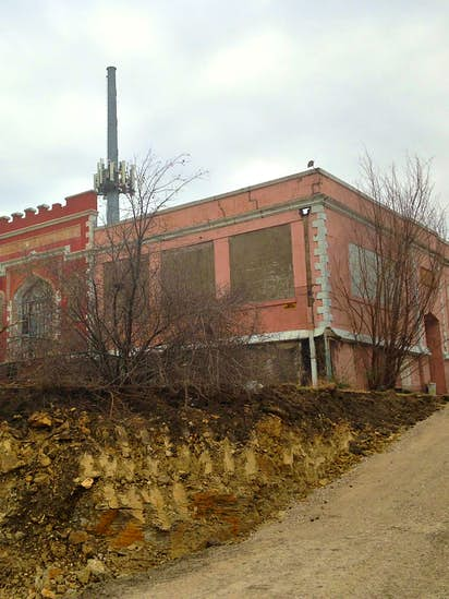 A Rush To Landmark Bonnie Parker S Old School Lest The Remains Of Cement City Turn Dust
