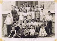 When kids attended Eagle Ford School, which closed in the 1950s((Courtesy the Dallas Mexican American Historical League))