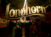 The Longhorn Ballroom will be remodeled  and remain open. (File Photo)