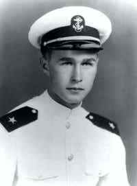 1943: George H. Bush, Naval Aviator Cadet.(George Bush Presidential Library)