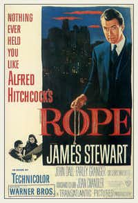Alfred Hitchcock's Rope movie poster
