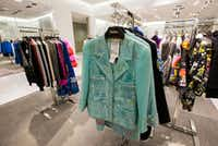 A vintage Chanel jacket that has been altered by the designer Libertine is displayed in the women's department inside a new Neiman Marcus store on Wednesday, February 8, 2017 at The Shops at Clearfork in Fort Worth, Texas. (Ashley Landis/The Dallas Morning News)
