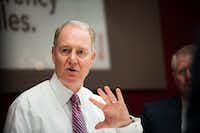"""Gary Kelly, chief executive officer of Southwest Airlines Co., said that the meeting with President Donald Trump was """"delightful."""". (Kholood Eid/Bloomberg)"""