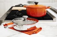 Cast iron as well as stainless steel cookware will be at the event. (Le Creuset)