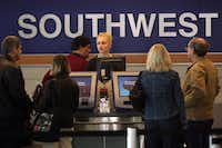 Southwest Airlines beat Wall Street expectations with $522 million fourth quarter earnings and a total of $5 Billion in revenue. (Photo by Scott Olson/Getty Images)