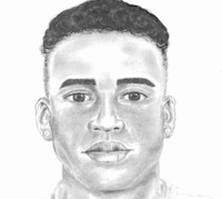 A police sketch of the suspect. ((Dallas police))
