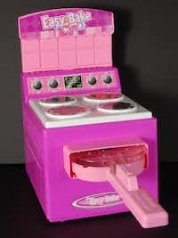 This undated handout photo provided by the Consumer Product Safety Commission (CPSC), shows a Hasbro inc. Easy Bake Oven, an iconic toy with a four-decade history, that has been recalled multiple times. (AP Photo/CPSC)(AP)