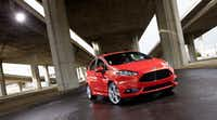 The 2014 Ford Fiesta. (Wieck)
