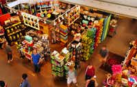 Visitors mingle with locals to shop or grab lunch at the North Market food hall in Columbus, Ohio.Katherine Rodeghier