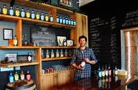 Greg Lehman, co-owner of Watershed Distillery, gave up a job in the corporate world to make spirits in the Grandview neighborhood of Columbus, Ohio.Katherine Rodeghier