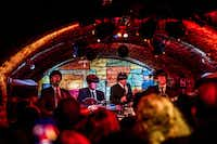 Cavern: Beatles' look-alike and cover bands are common at The Cavern, a remake of the club The Beatles' made famous in the 1960s. (VISIT BRITAIN)