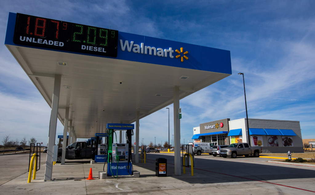 Walmart Gas Station Near Me >> A Wal Mart Convenience Store Retail Giant Tests The Concept In