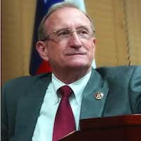 Collin County Republican Party Chairman George Flint said his role is to be a voice for Republican conservative values.(Collin County Republican Party)