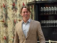 John Besh at the Caribbean Room in the Pontchartrain Hotel in New Orleans.(Wesley K.H. Teo)