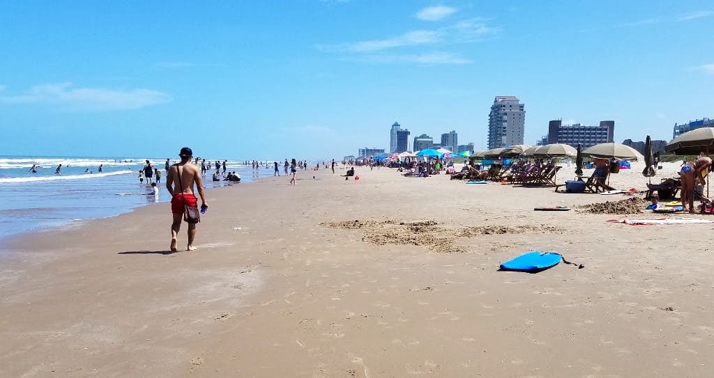 The Texas Coast Gets Ready For Spring Break With Beefed Up Beaches