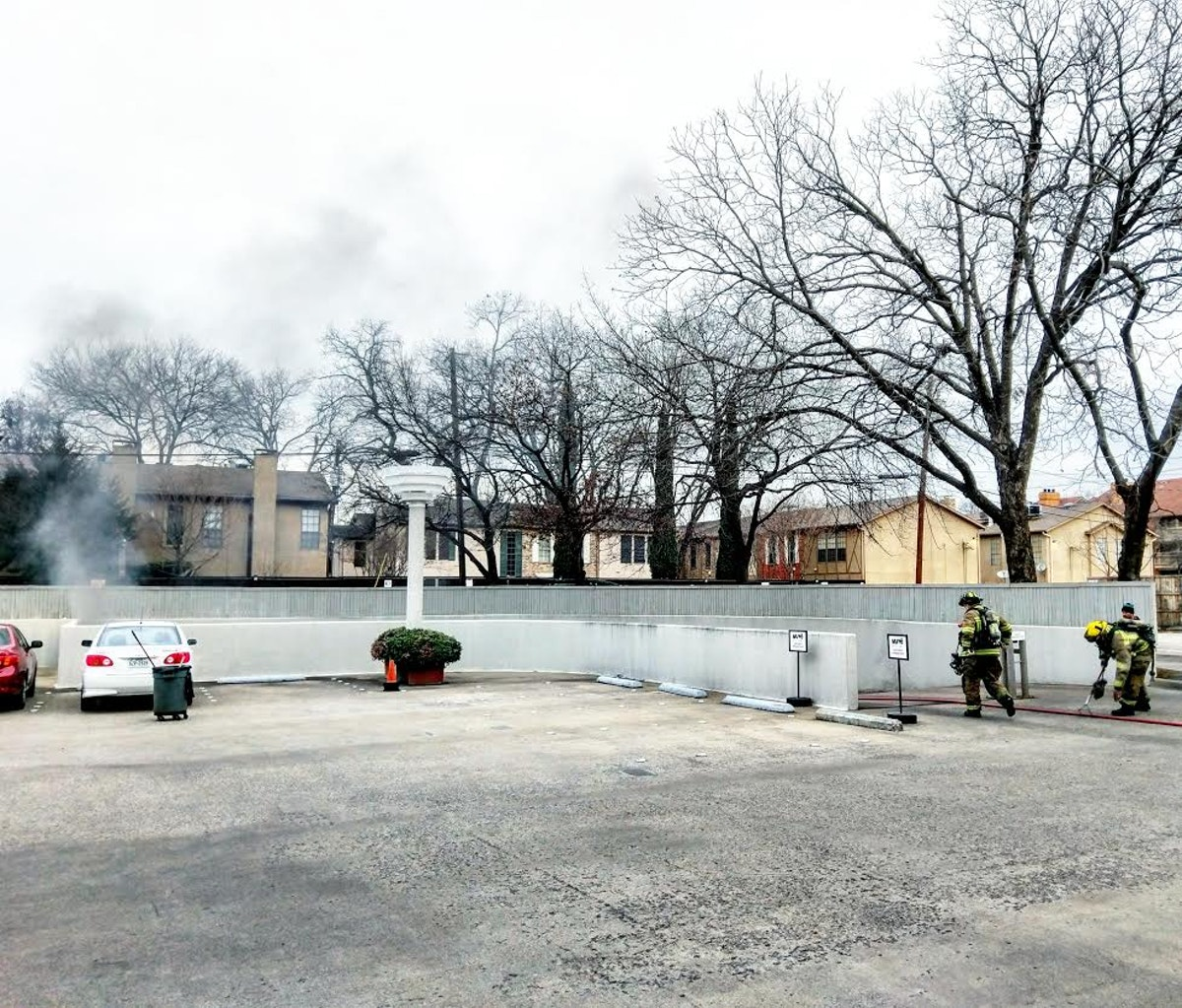 Spontaneous Combustion Sparks Fire In Oak Lawn Parking