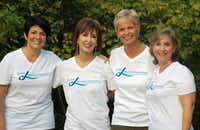 <p>Be the Difference Foundation was created by <br></p>(from left) Jill Bach, Helen Gardner (who died in 2014), Lynn Lentscher and Julie Shrell.