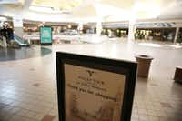 Interior of Valley View Mall in Dallas on Wednesday, Feb. 1, 2017.  (Rose Baca/The Dallas Morning News)(Staff Photographer)