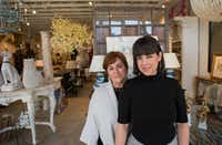 The mother-daughter team of Teddie and Courtney Garrigan in their store Coco & Dash in Dallas. ((Robert W. Hart/Special Contributor))