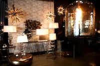 Inside the Arteriors showroom in Dallas.(Rose Baca.Staff Photographer)