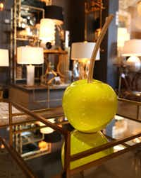 Arteriors is known for lighting and fanciful home accessories.(Rose Baca/Staff Photographer)