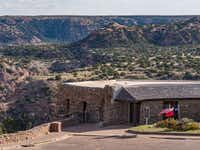 Built by the Civilian Conservation Corps (CCC) in 1934, El Coronado Lodge now serves as Palo Duro Canyon State Park's cliff-edge visitor center. (Dan Leeth/Special Contributor)