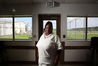"""<p><span style=""""font-size: 1em; background-color: transparent;"""">Anisha Walker at the Henley State Jail in Dayton on Sept. 1, 2016. At 14, Walker was sent to prison for killing a man after selling him cocaine. Now 34, she has just been granted parole.</span></p>((Rose Baca/Staff Photographer))"""