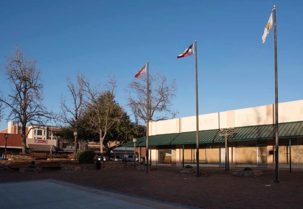 Garland Considers Demolition Of Century Old Building As It Updates Its Downtown Square Garland