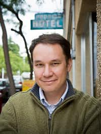 "Jamie Ford, author of ""Hotel on the Corner of Bitter and Sweet.""((The Associated Press))"