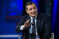 Sen. Ted Cruz spoke at the Conservative Political Action Conference last week. (Al Drago/The New York Times)