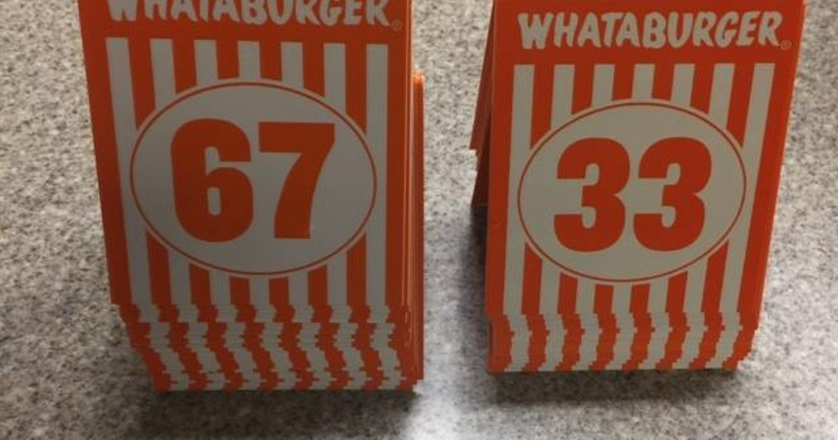 Houston Police To Stop Using Whataburger Order Numbers To Mark Crime