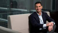 Jeff Aronin, Chairman & CEO of Marathon Pharmaceuticals, at his office in Chicago. (Andrew A. Nelles/Chicago Tribune/TNS)(TNS)