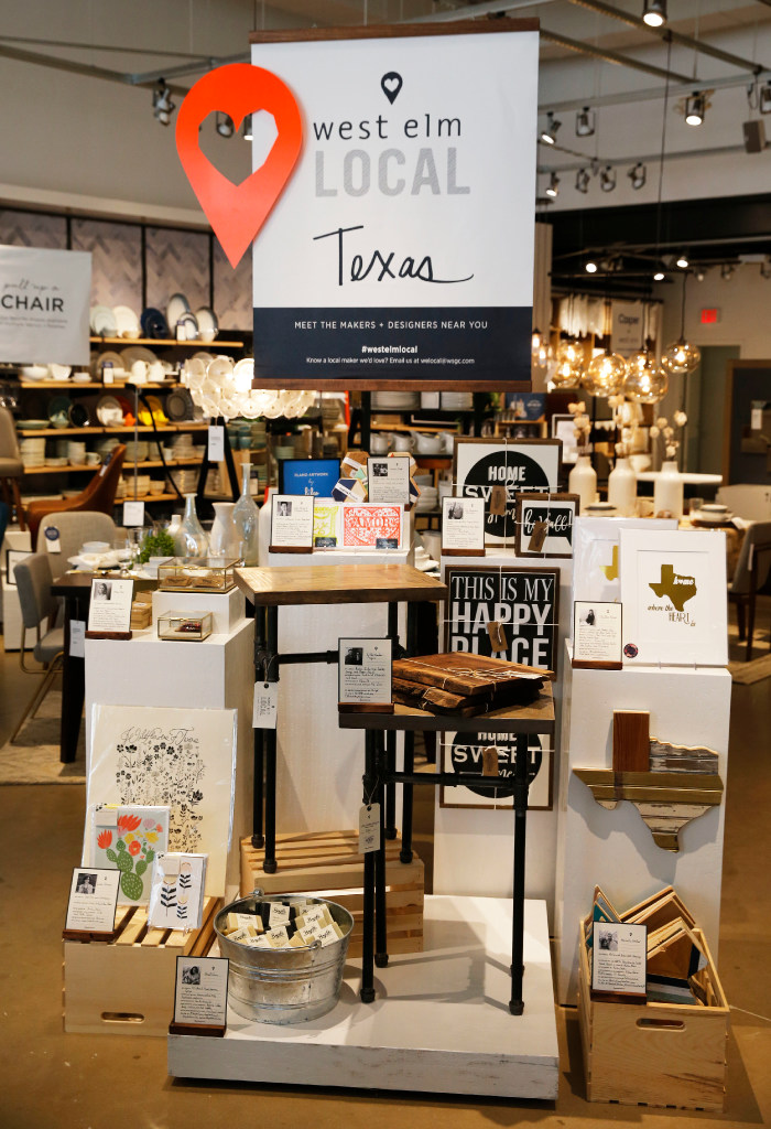 Take a tour of West Elm Plano, the first retail store to ...