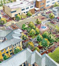 What if Five Points could look like this ...((Courtesy Vickery Public Improvement District))
