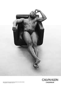 "North Texan Trevante Rhodes is featured in a fresh ad campaign featuring the men of ""Moonlight."""