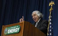 "<p>Former Energy Secretary Ernest Moniz said the ""distinguishing characteristic of the Department of Energy among Cabinet agencies is the almost total reliance on science and technologies."" (Susan Walsh/The Associated Press)</p>"