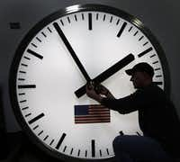 Daylight Saving Time officially begins at 2 a.m. Sunday. (File Photo/The Associated Press)